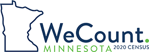 We Count Minnesota 2020 Census Logo